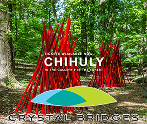 Chihuly at Crystal Bridges Museum