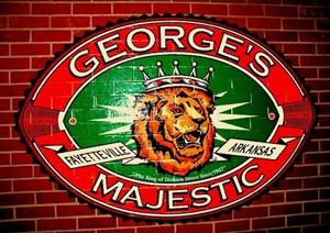 George's Majestic Lounge Fayetteville Arkansas