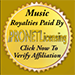 Music royalties & licenses ASCAP, BMI, SESAC, SoundExchange
